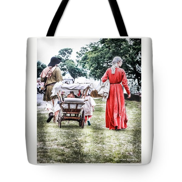 Tote Bag featuring the photograph Family Rollin' by Stwayne Keubrick