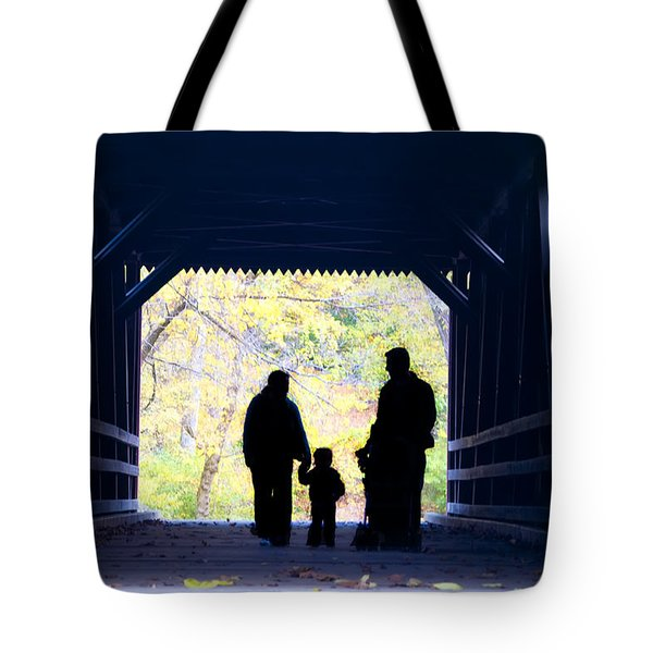 Family Time Tote Bag by Bill Cannon