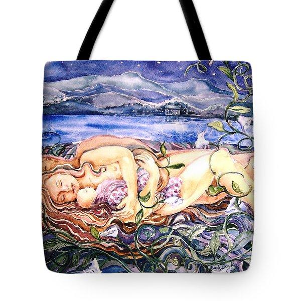 Family  Tote Bag by Trudi Doyle