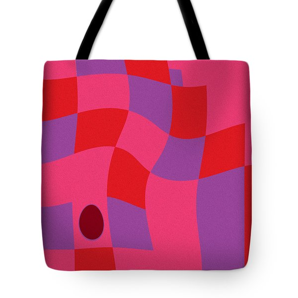 Family Values Squared Skewed Tote Bag