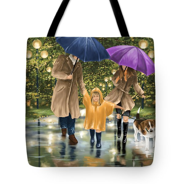 Family Tote Bag by Veronica Minozzi