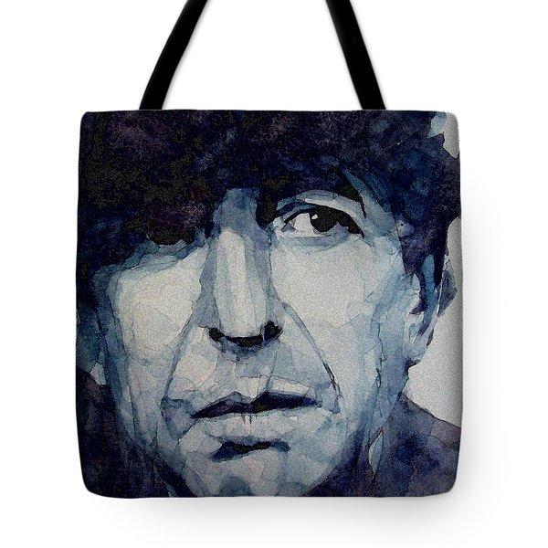 Famous Blue Raincoat Tote Bag