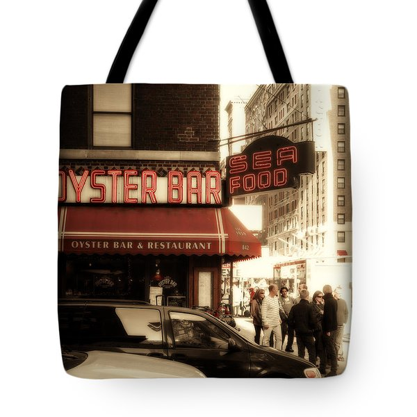 Famous Oyster Bar Tote Bag