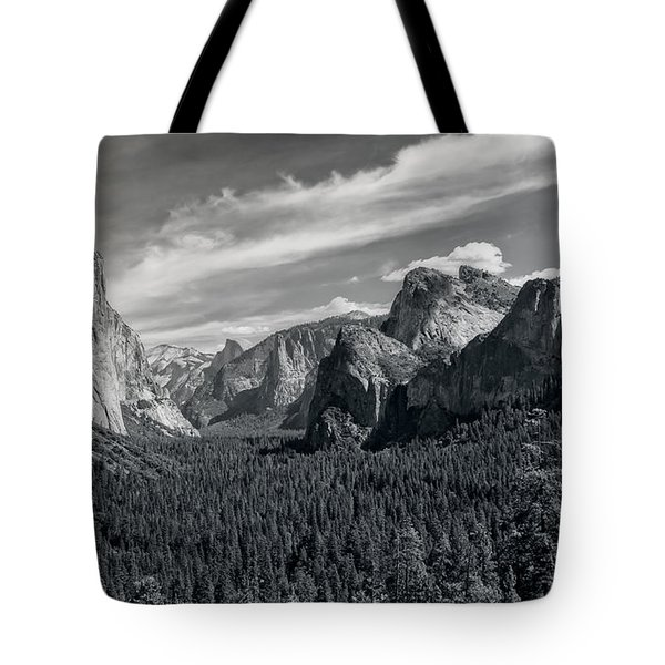 Tote Bag featuring the photograph Famous Yosemite Valley by John M Bailey