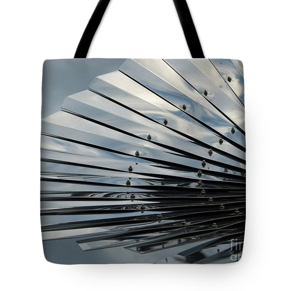 Fan In The Sky Tote Bag