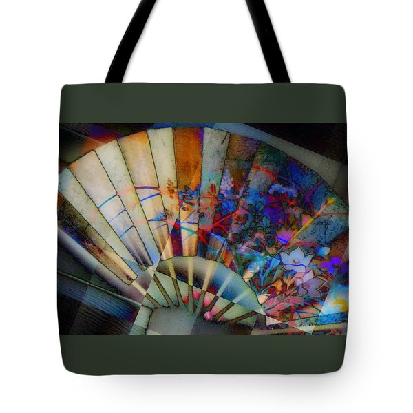 Tote Bag featuring the photograph Fan-tastic by Jodie Marie Anne Richardson Traugott          aka jm-ART