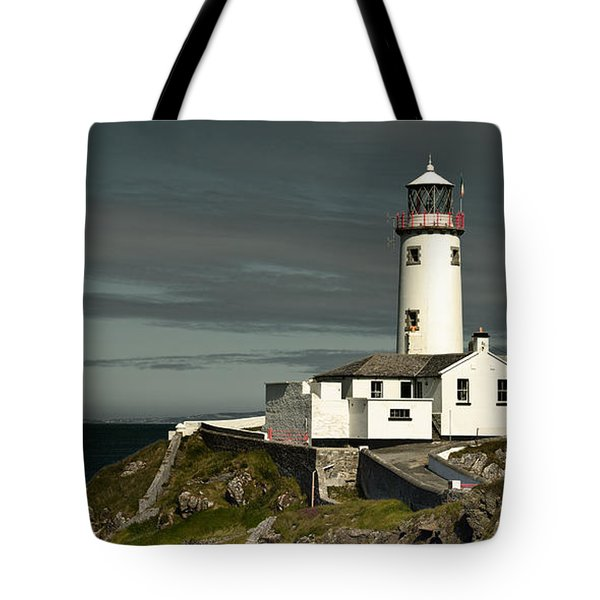 Tote Bag featuring the photograph Fanad Head Lighthouse by Jane McIlroy
