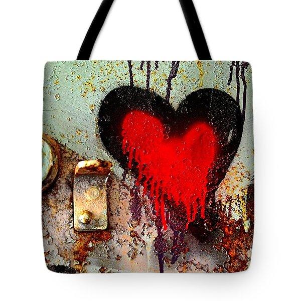 Fanatic Heart Tote Bag by Lauren Leigh Hunter Fine Art Photography