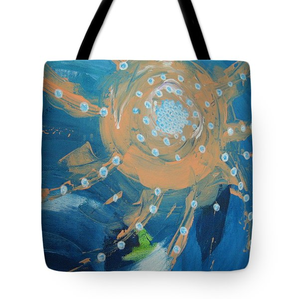 Fanciful Abstract Tote Bag by Dotti Hannum