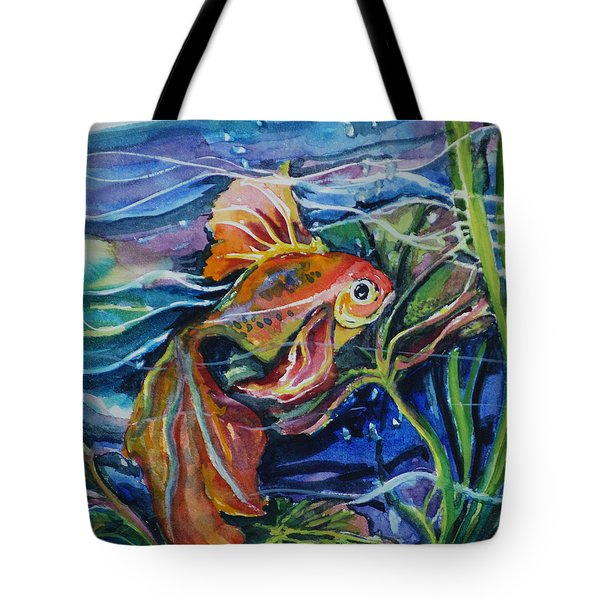 Fanciful Fish Tote Bag