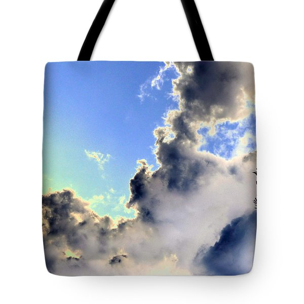 Tote Bag featuring the photograph Fanciful Sky by Jim Whalen