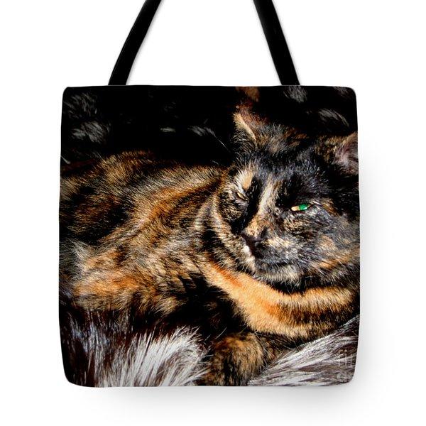 Fancy Cat Tote Bag
