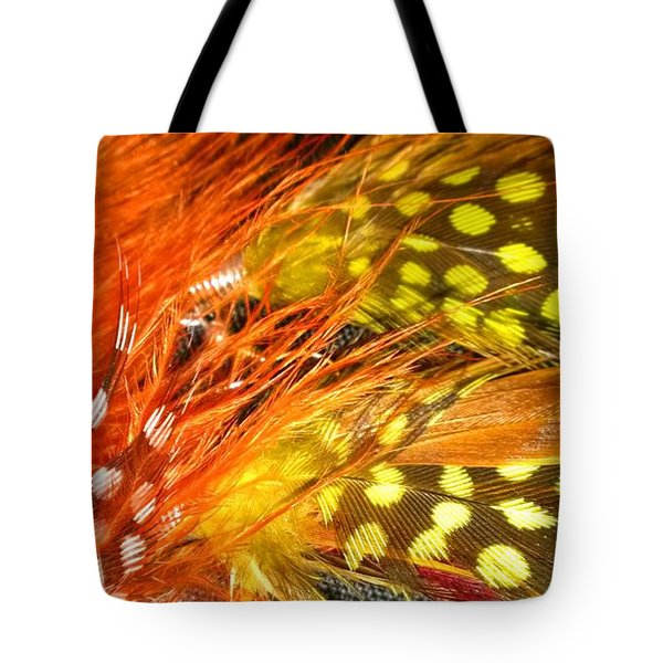 Fancy Feathers Tote Bag by Catherine Ratliff