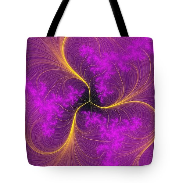 Fancy Feathers Tote Bag