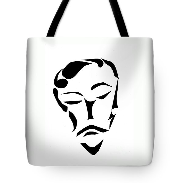 Fancy Man Tote Bag