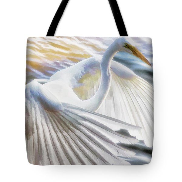 Fancy Wing Dancer  Tote Bag