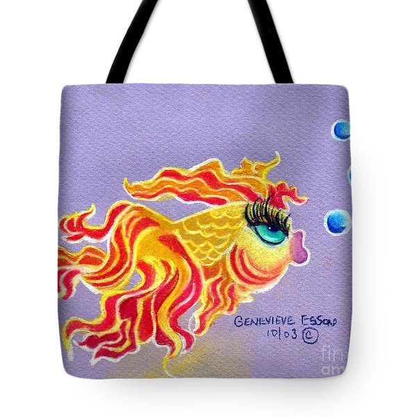 Fancytail Goldfish Tote Bag by Genevieve Esson