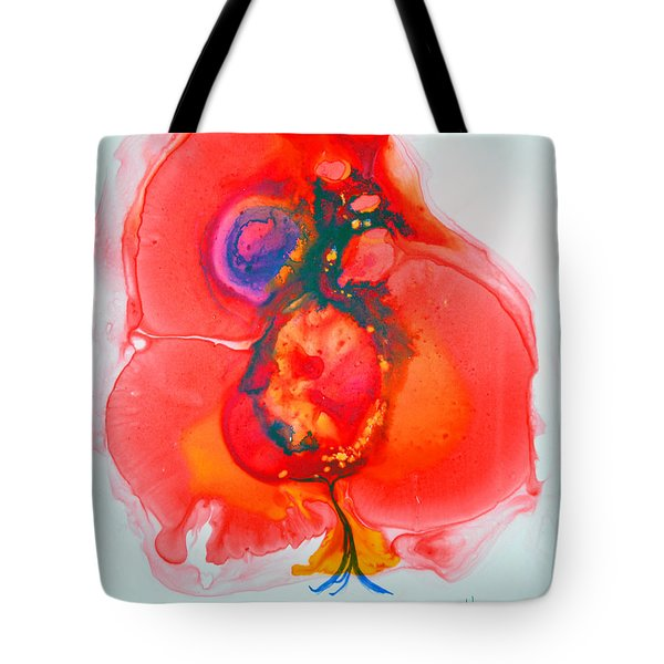 Tote Bag featuring the painting Fandango II by Joan Hartenstein