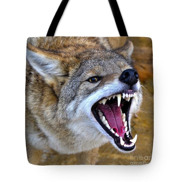 Fangs Tote Bag