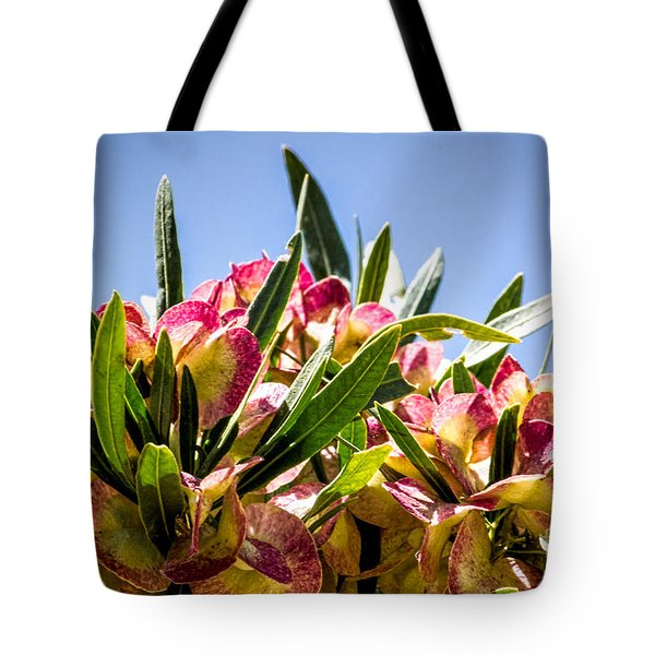 Fanned Flowers Tote Bag