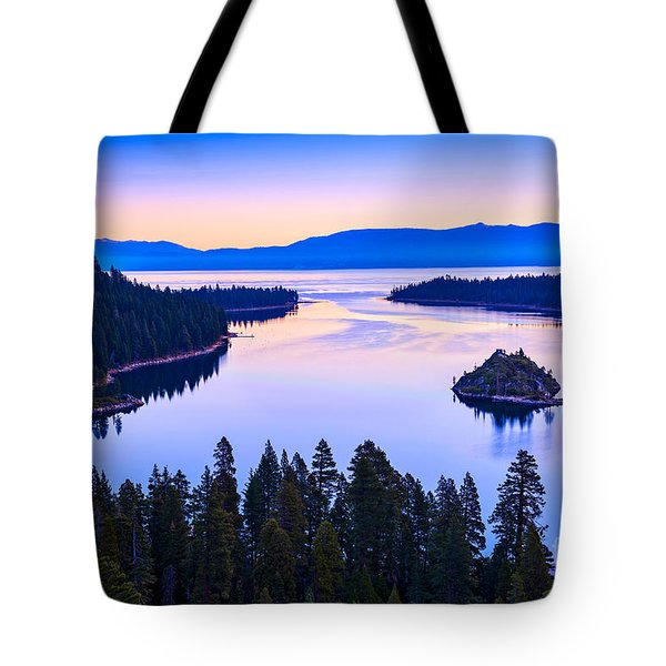 Fannette Island Sunrise Tote Bag