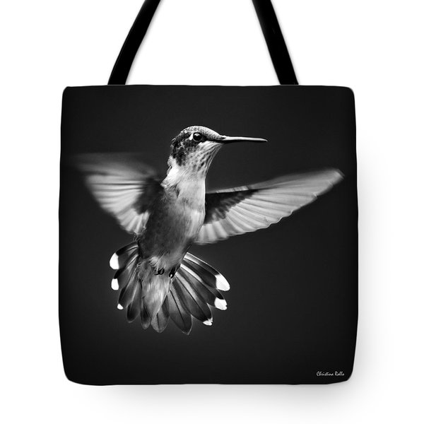 Fantail Hummingbird Tote Bag