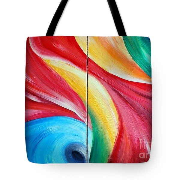 Fantasia 2 Tote Bag by Teresa Wegrzyn