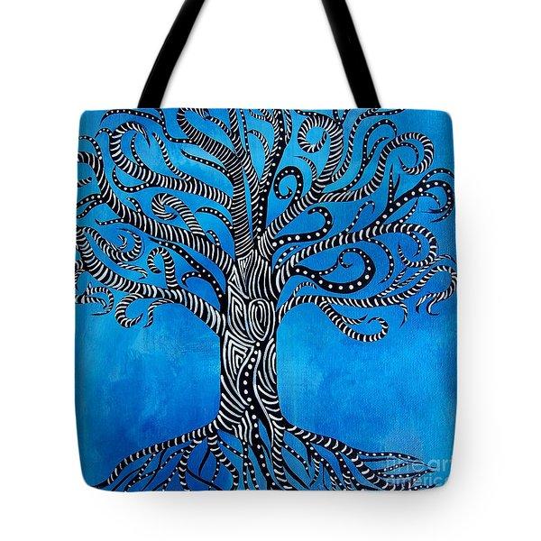 Fantastical Tree Of Life Tote Bag