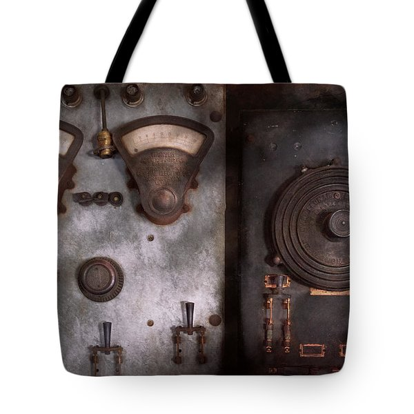 Fantasy - A Tribute To Steampunk Tote Bag by Mike Savad
