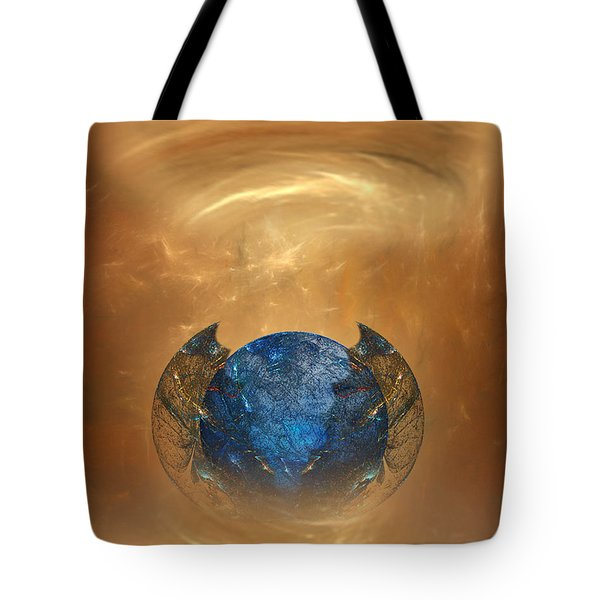 Fantasy Art - Birth Of A Planet By Rgiada Tote Bag