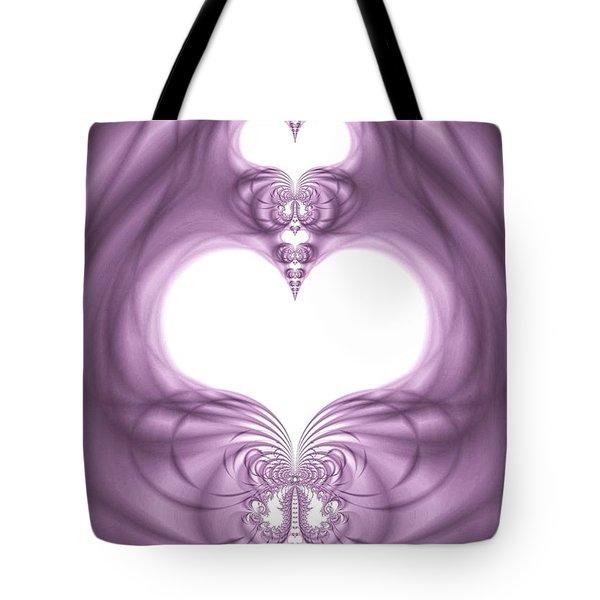 Fantasy Hearts Tote Bag