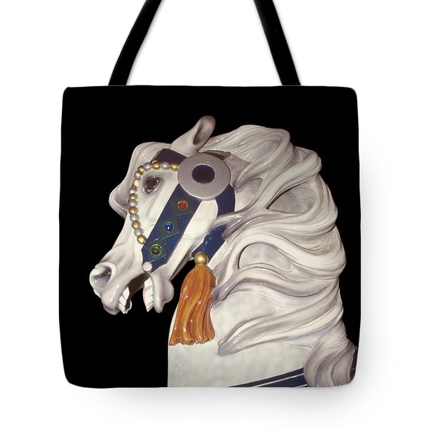 fantasy horses art - Dapple Gray Tote Bag