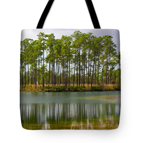 Fantasy Island In The Florida Everglades Tote Bag