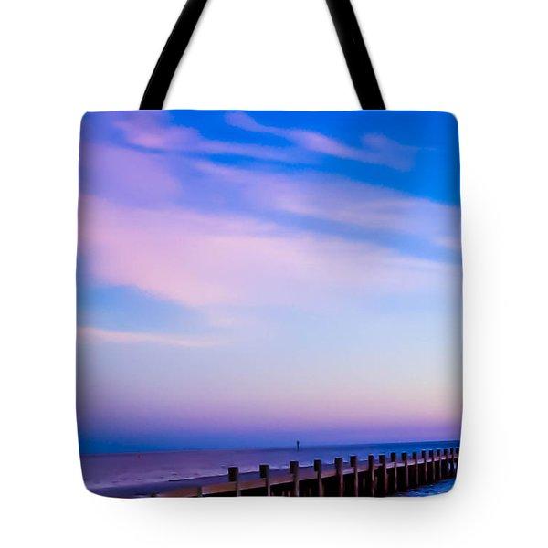 Fantasy Pier Tote Bag