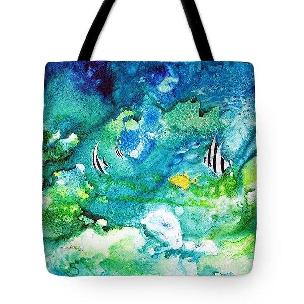 Fantasy Sea Tote Bag