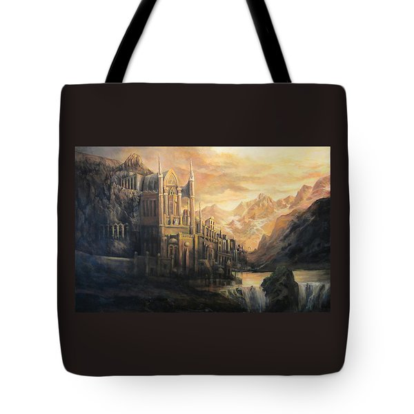 Fantasy Study Tote Bag by Donna Tucker