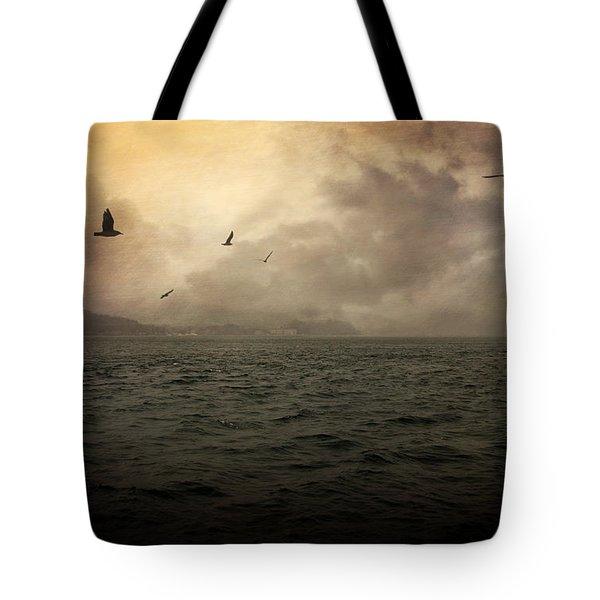 Far Apart Tote Bag by Taylan Apukovska