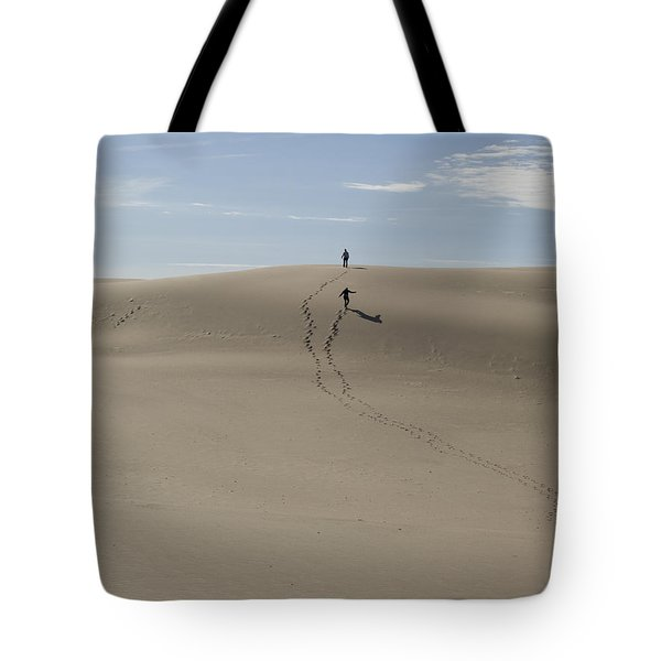 Tote Bag featuring the photograph Far Away In The Sand by Tara Lynn