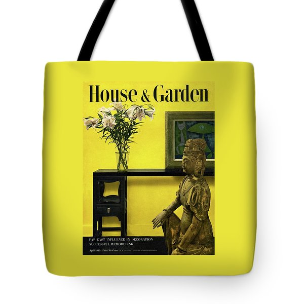 Far-east Influenced Decoration Tote Bag