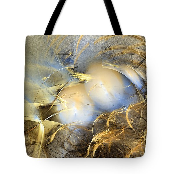 Far From The Treacherous World - Abstract Art Tote Bag