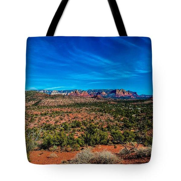 Far View Tote Bag by Jon Burch Photography