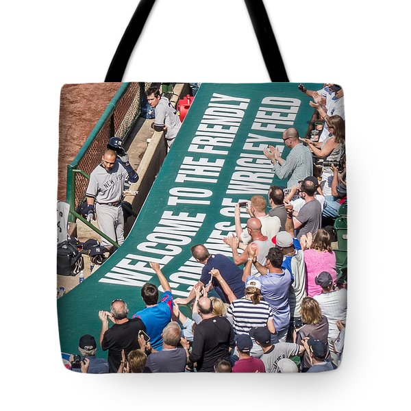 Farewell From The Wrigley Faithful Tote Bag