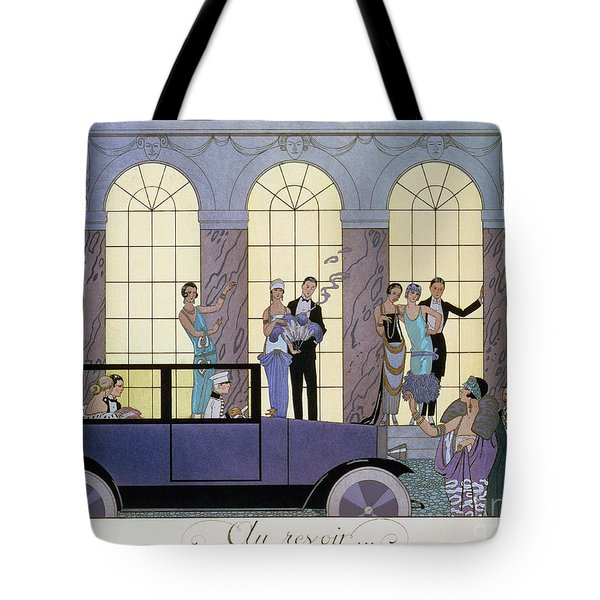 Farewell Tote Bag by Georges Barbier