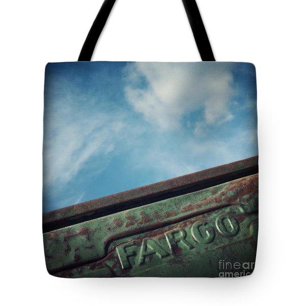Fargo Tote Bag by Priska Wettstein