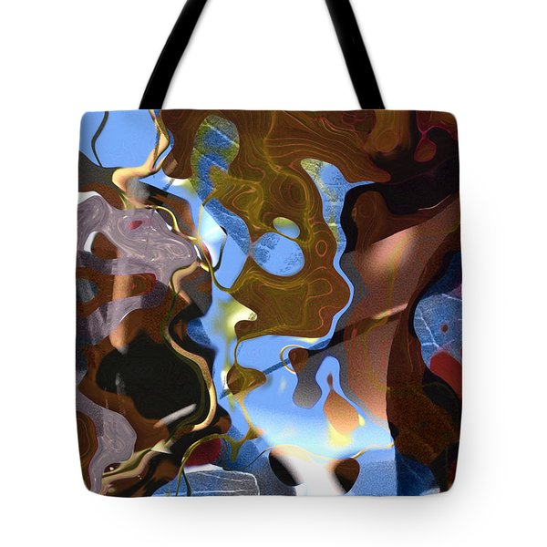 Tote Bag featuring the digital art Fargo by Richard Thomas