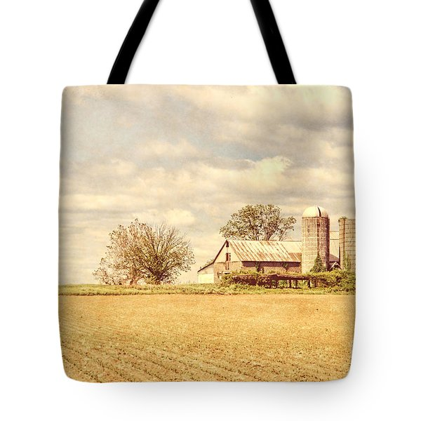Farm And Fields  Tote Bag