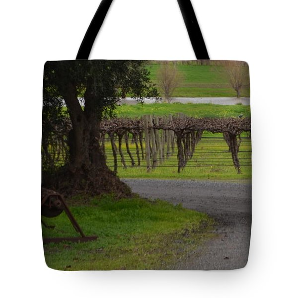 Farm And Vineyard Tote Bag