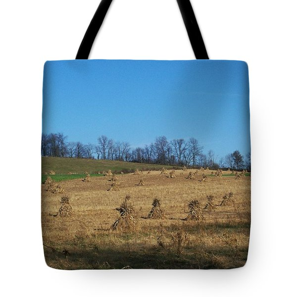 Tote Bag featuring the photograph Farm Days by Sara  Raber