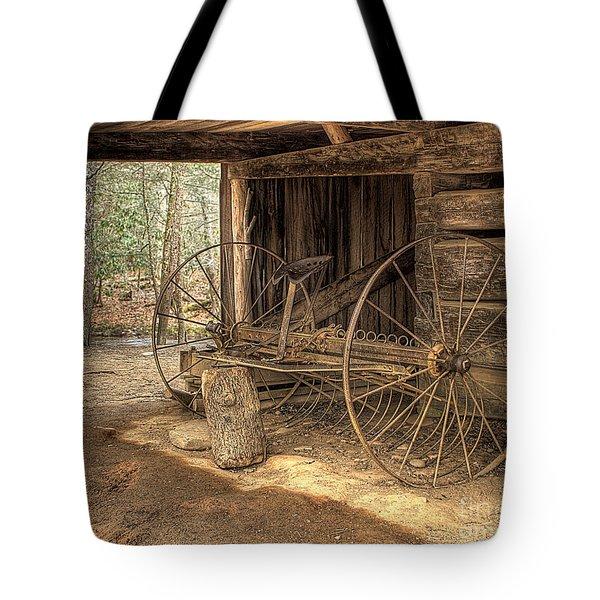 Farm Equipment Tote Bag