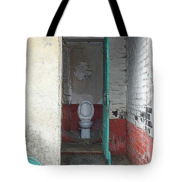 Tote Bag featuring the photograph Farm Facilities by HEVi FineArt
